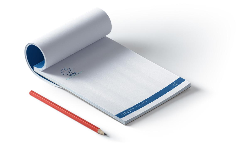 Εκτυπώσεις για Διαγνωστικά Κέντρα - Μπλοκ Σημειώσεων
