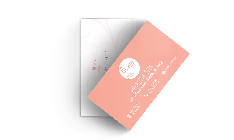 Εκτύπωση για Κέντρα Ομορφιάς & Spa - Επαγγελματικές Κάρτες