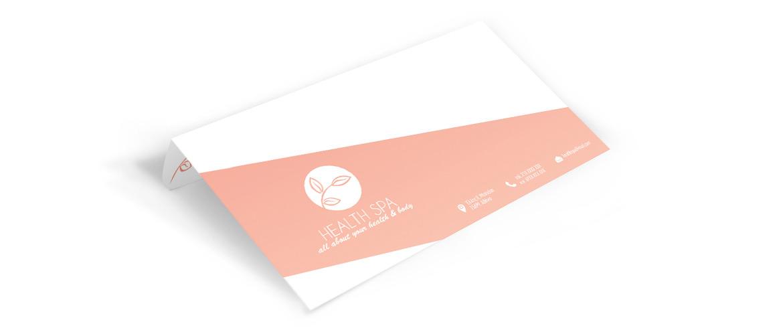 Εκτύπωση για Κέντρα Ομορφιάς & Spa - Φάκελοι Αλληλογραφίας