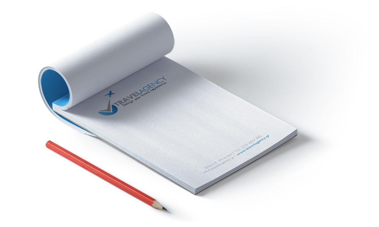 Εκτυπώσεις για Πρακτορεία Τουρισμού - Μπλοκ Σημειώσεων